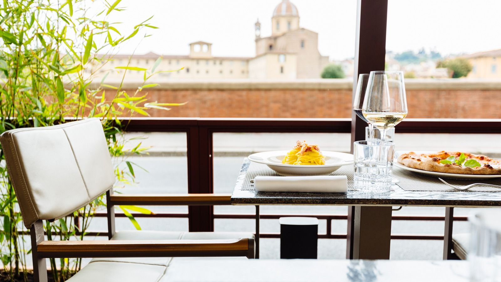 Fresh ingredients at Orvum Bar, The Westin Excelsior Florence