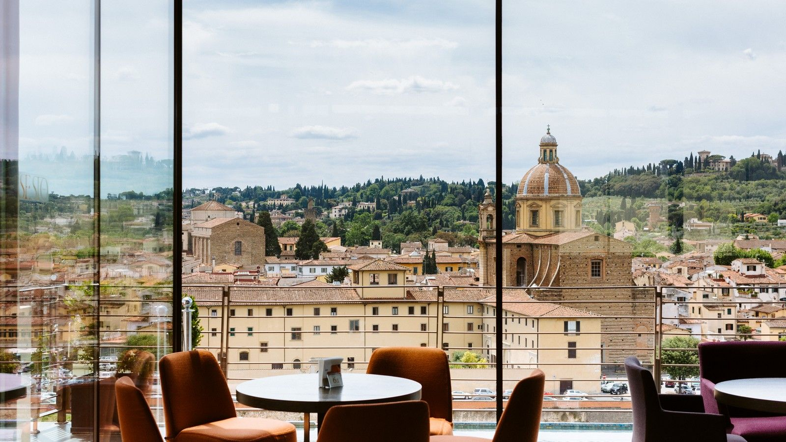 Sesto on Arno Terrace with a view over Florence