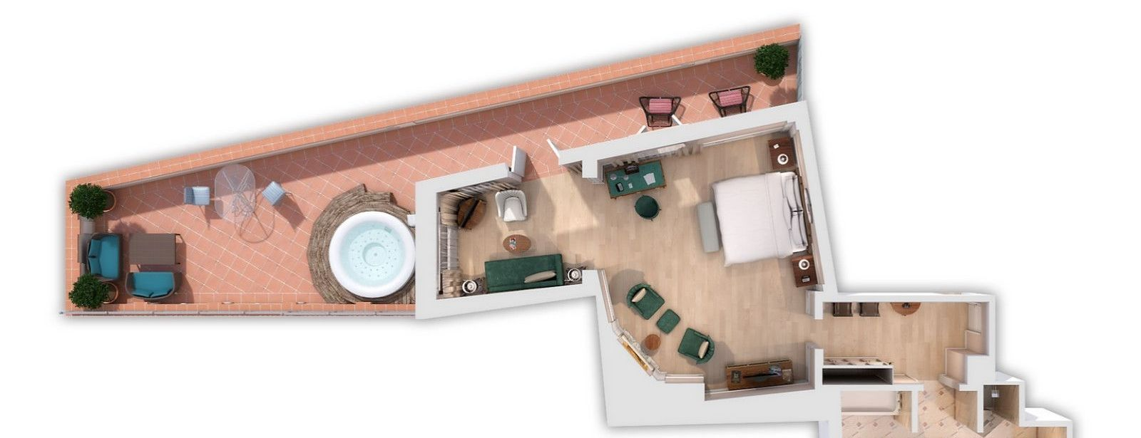 Belvedere Suite floor plan